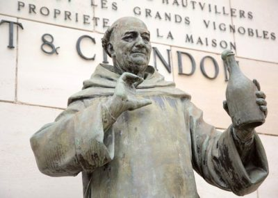 The monk Dom Pérignon, a legend in champagne