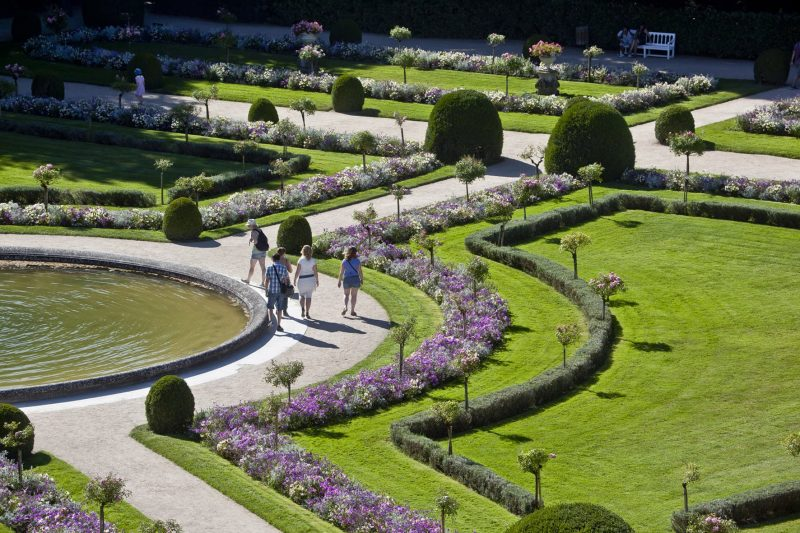©marc-jauneaud-Jardin-de-Catherine-de-Médicis_château-de-Chenonceau