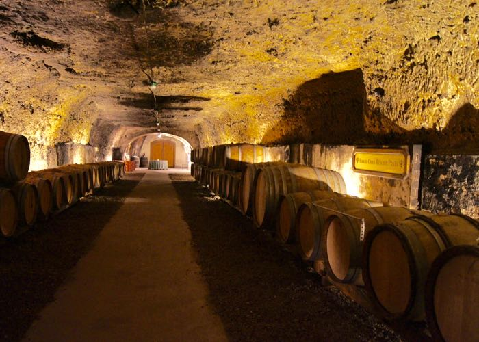 Loire valley cellar visit during a private wine day tour to Loire valley