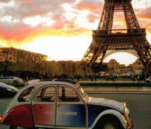 Authentic Wine tour in 2cv in Paris before a tour in Champagne for a day