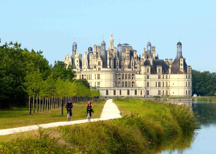 Wine day in Castle of Loire Valley