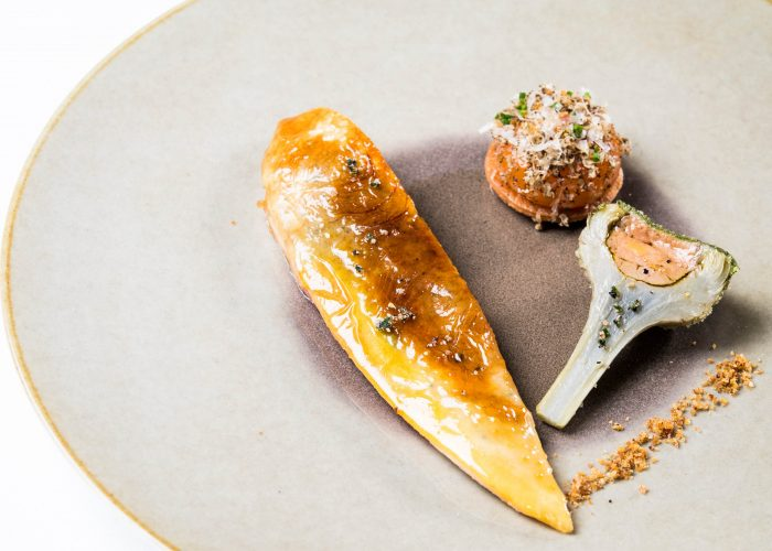 food and champagne pairing in Reims