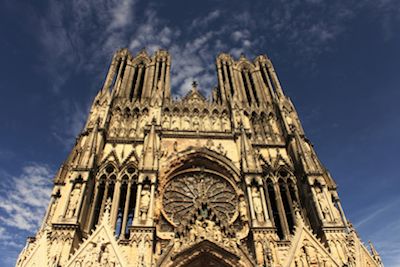 reims cathedral where 33 kings of France were crowned, The greatest players of Champagne's history