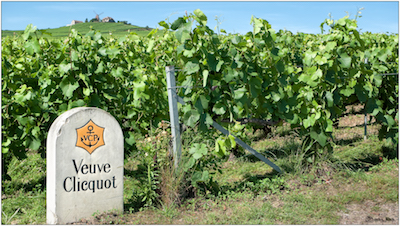 vineyards of veuve clicquot ponsardin, The greatest players of Champagne's history