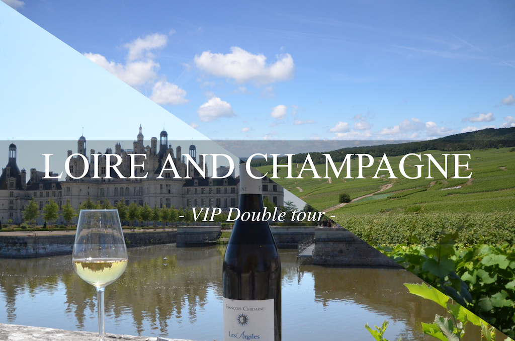 LOIRE AND CHAMPAGNE VIP DOUBLE WINE DAY TOURS