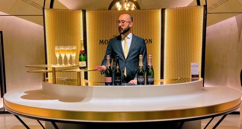 Moet champagne house tasting degustation