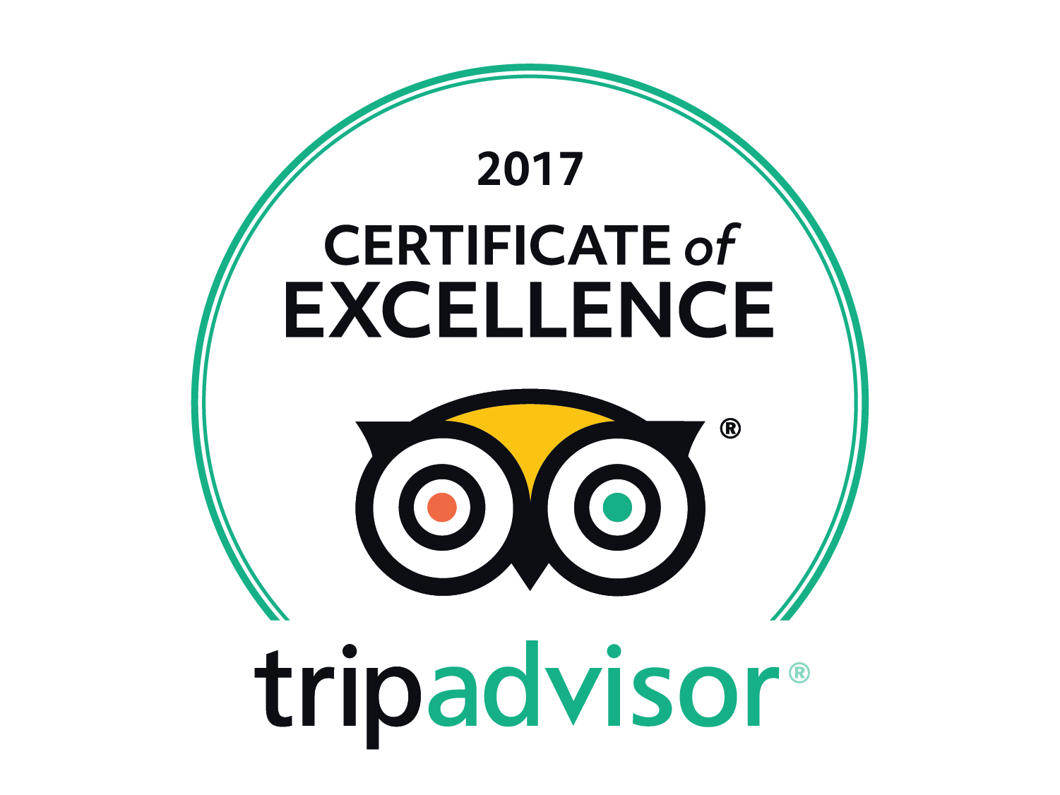 Visit Champagne My Winedays Certificate of excellence Tripadvisor 2017 white