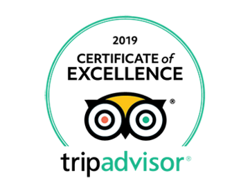 Visit Champagne My Winedays Certificate of excellence Tripadvisor 2019 white